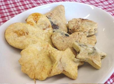 干し柿入りクッキー
