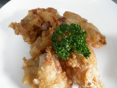 鶏むね肉の竜田揚げ