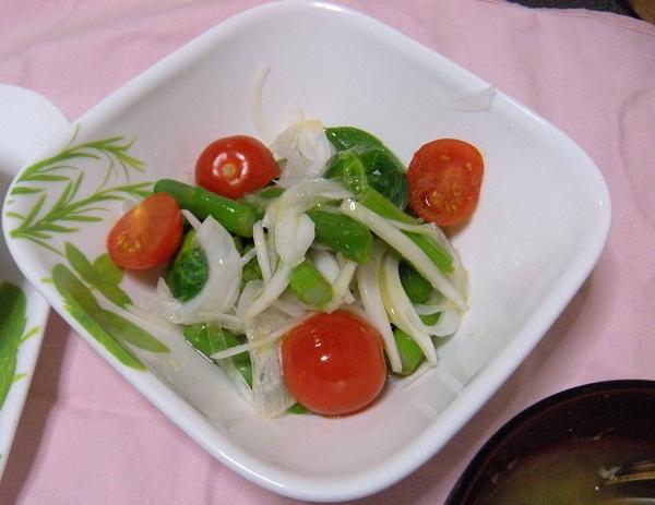 アスパラガスと春野菜のサラダ