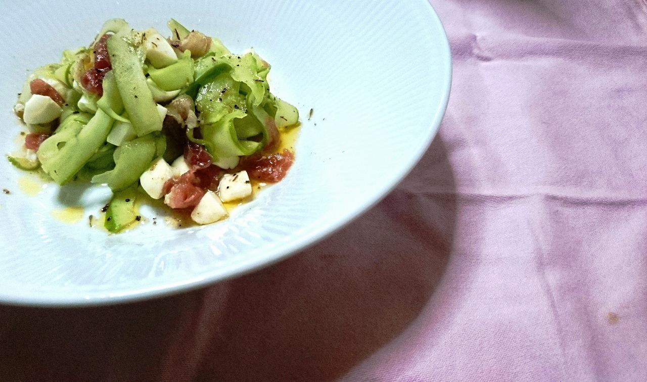 白瓜のイタリアンサラダ