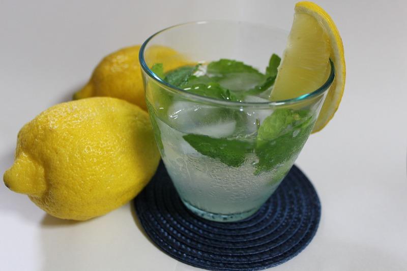 レモン&はちみつソーダ