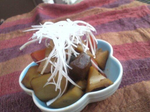 蓮根の煮物