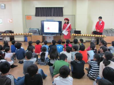 青森県産りんごの食育活動