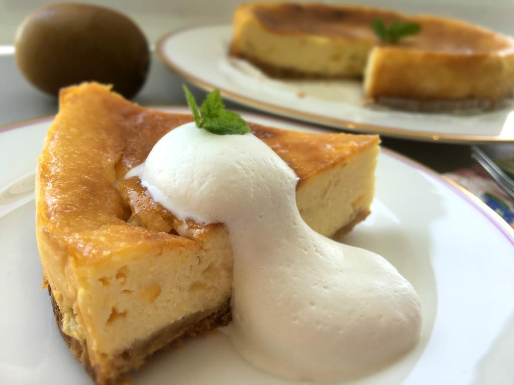 キウイチーズケーキ