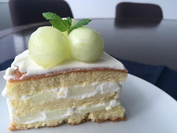 キンショーメロンのホワイトケーキ