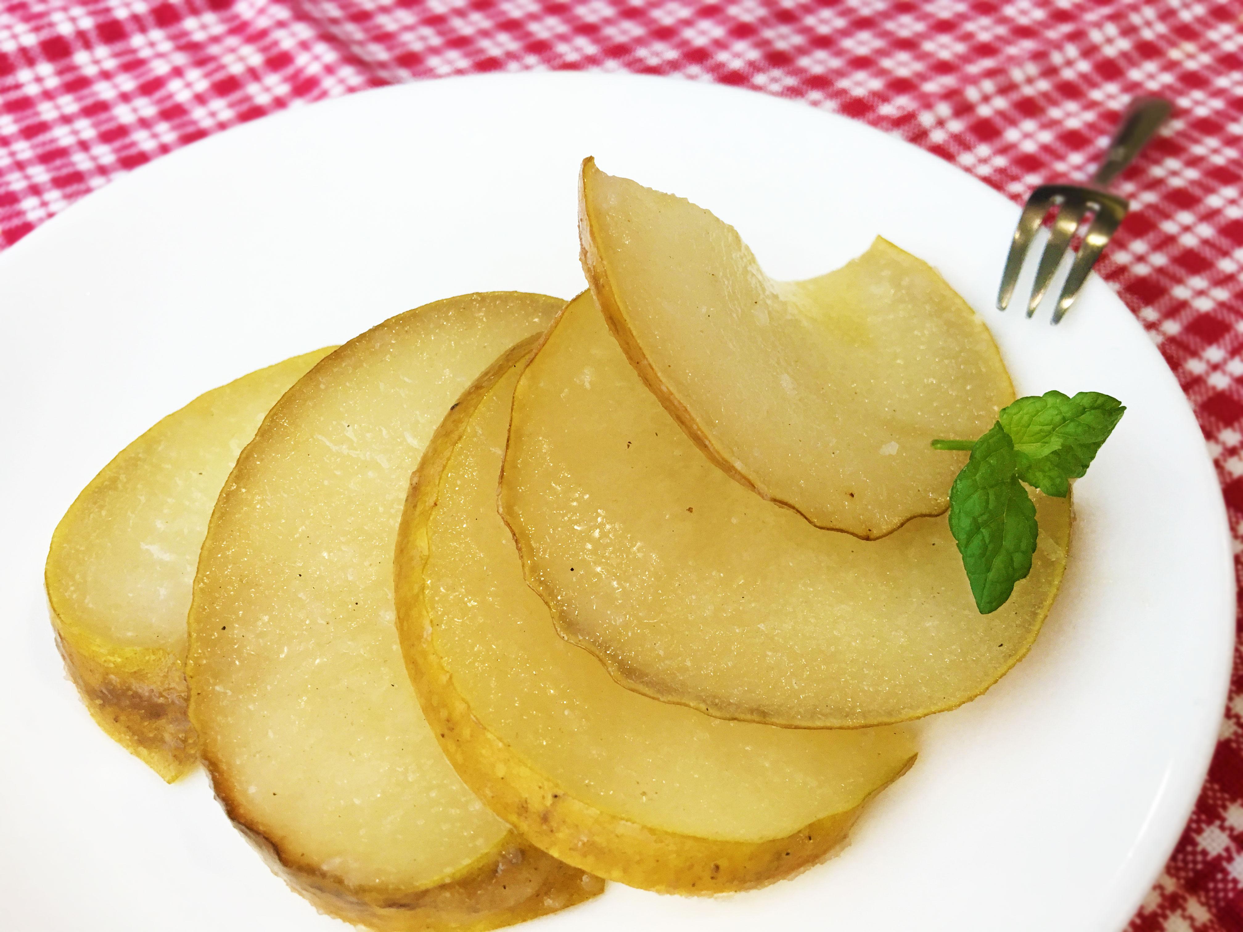 梨のバター焼き