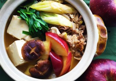 りんごのキムチ鍋