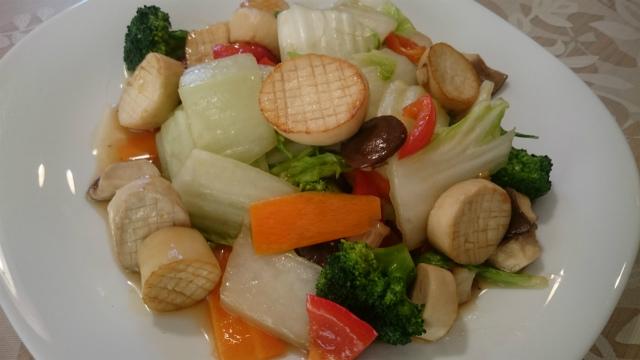 エリンギの八宝菜