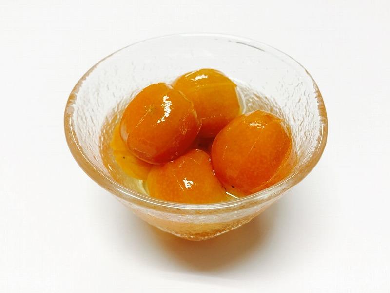 金柑の甘露煮