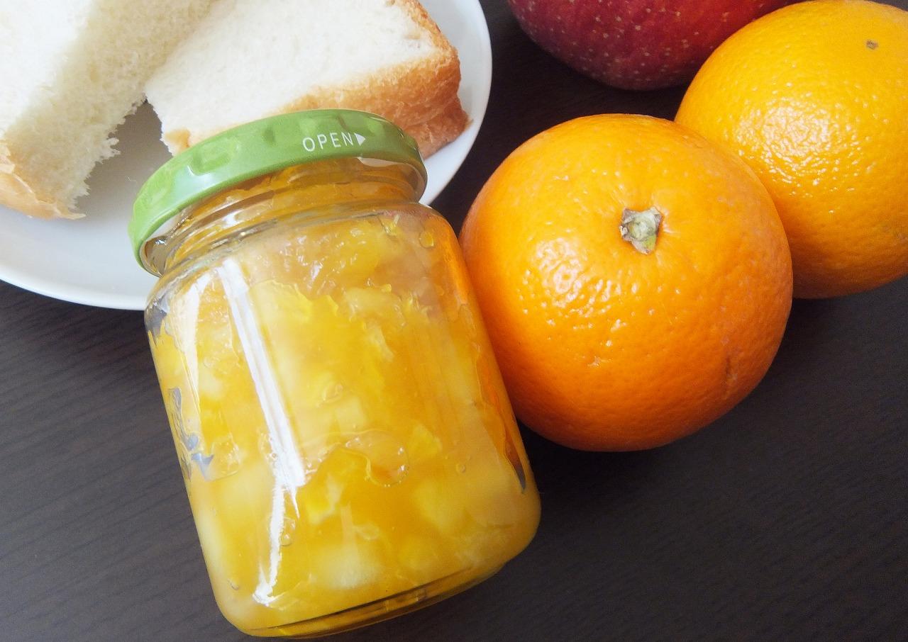 オレンジとりんごのミックスジャム