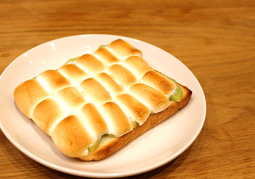キウイマシュマロトースト