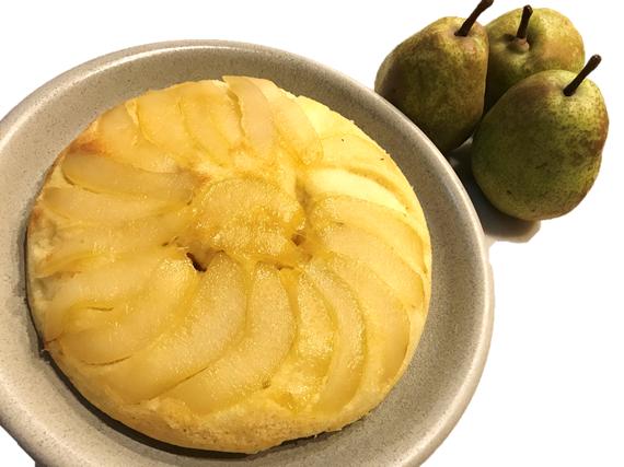 西洋梨のケーキ