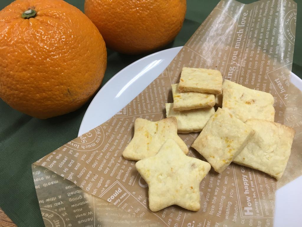 甘夏ジャムでクッキー
