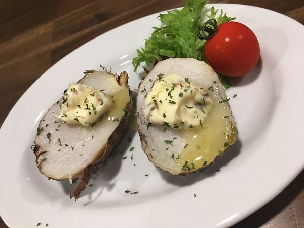 里芋のアンチョビバター