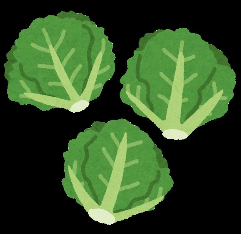 「小さな緑」の野菜