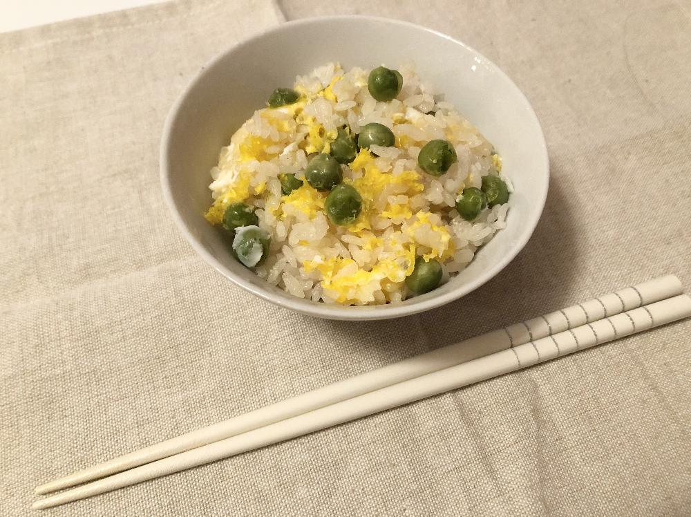 中華風豆ご飯