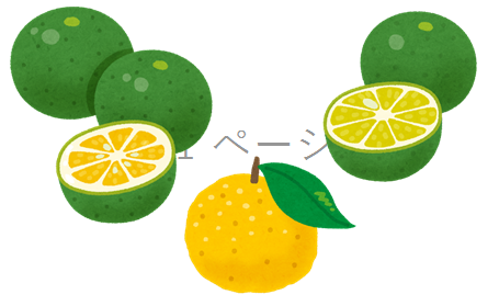 用途いろいろ香酸柑橘
